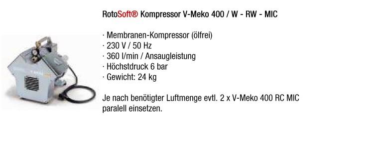 Kompressor V-Meko