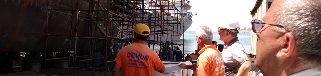 Beratung einer Schiffswerft in Istanbul